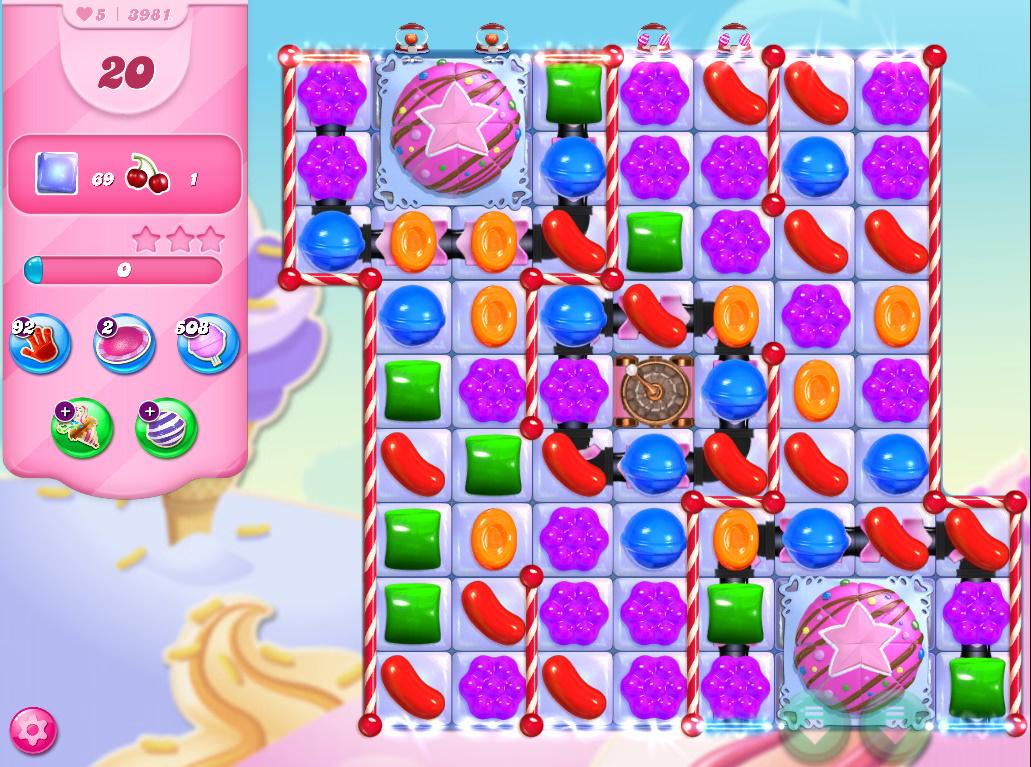 Candy Crush Saga level 3981