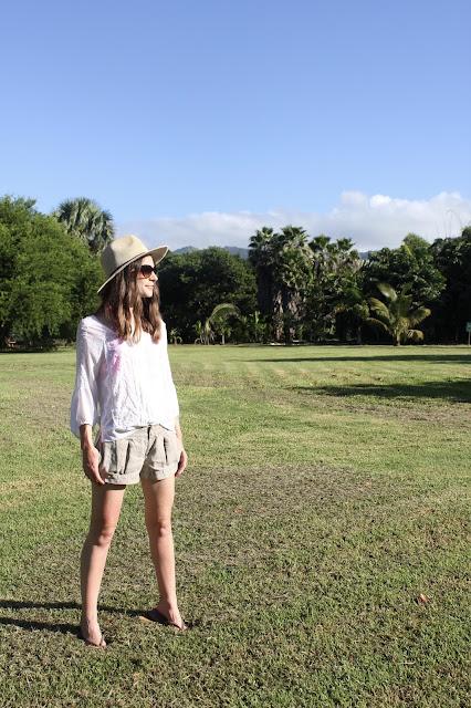 safara hat and shorts in Jamaica