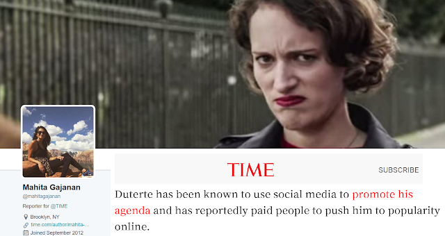 Open Letter to TIME Magazine: 'Duterte is no. 1 even without you poll'