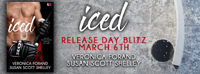 Release Day Blitz & Giveaway: Iced by Veronica Forand & Susan Scott Shelley