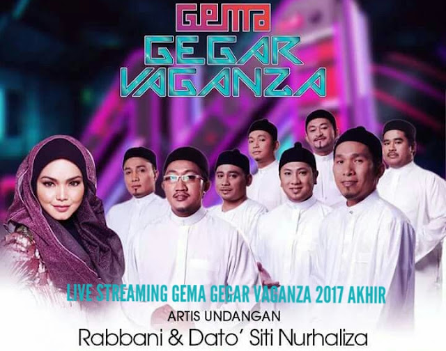 Live Streaming Gema Gegar Vaganza Final 2017
