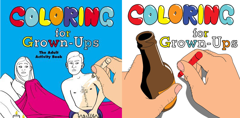 The Coolest Coloring Books For Grown Ups Part III