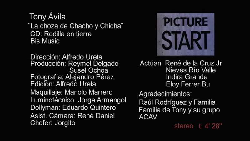 Tony Ávila - ¨La choza de Chacho y Chicha¨ - Videoclip - Dirección: Alfredo Ureta. Portal Del Vídeo Clip Cubano - 10