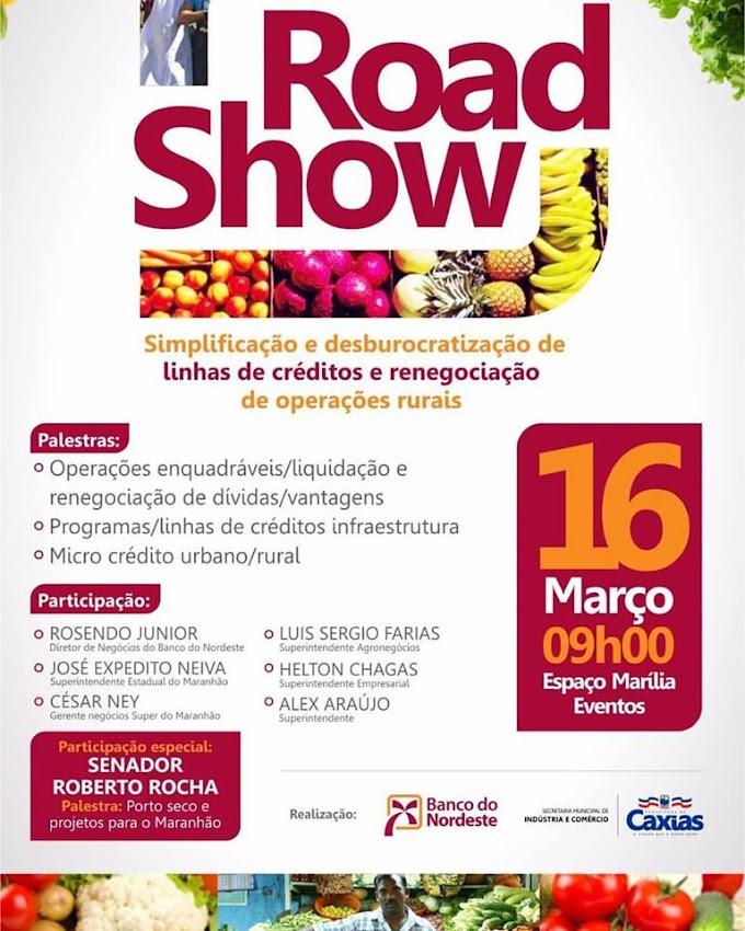 """Caxias promove o 1° """"Road Show"""" para movimentar o comercio local"""