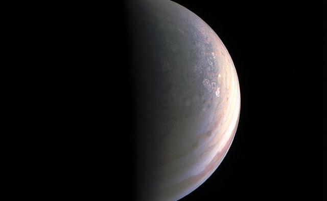 Júpiter visto por Juno