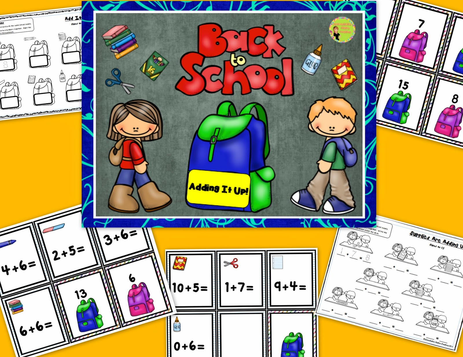Differentiation Station Creations Back To School Freebies