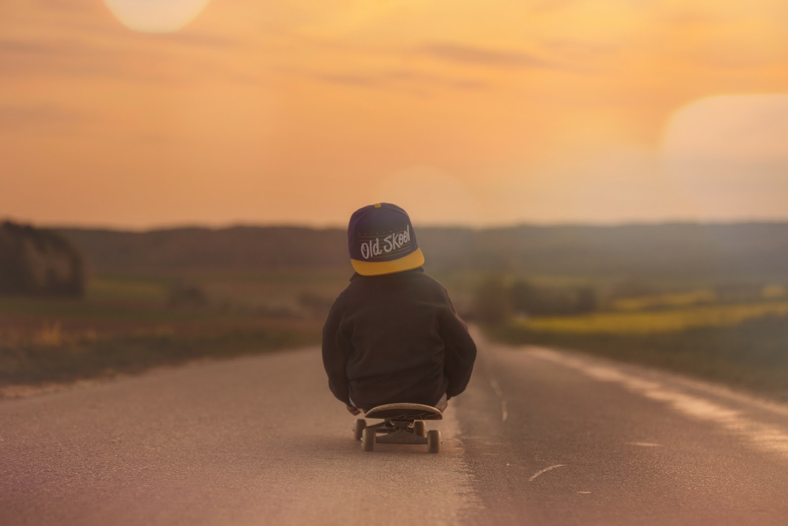 Three great ideas for a little adventure - skateboarding