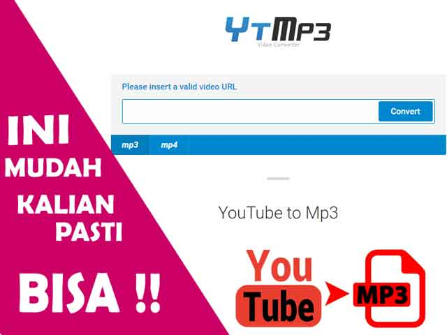 cara download video youtube ke mp3 android