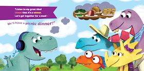 dinner for dinos cover sample