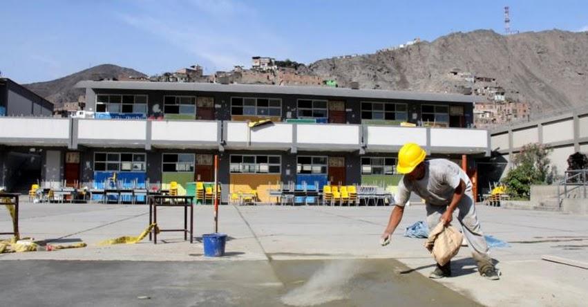 MINEDU: 350 millones de soles se destinarán al mantenimiento de colegios - www.minedu.gob.pe