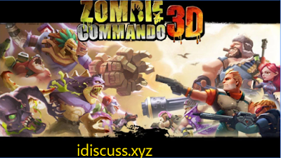 Zombie Commando 3D Unlimited Money Apk + OBB