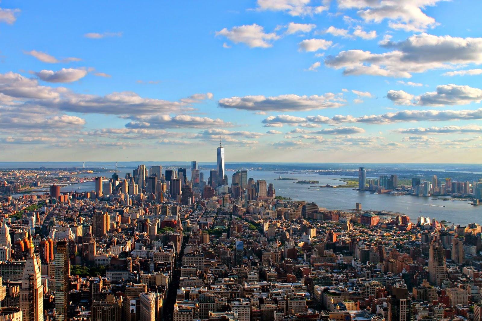 Pensieri in viaggio top of the rock o empire state building for New york dall alto