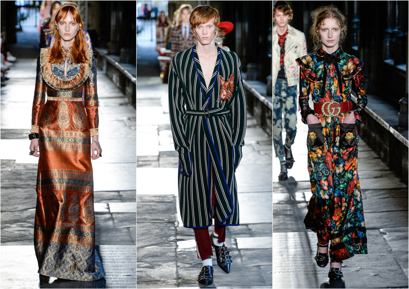 Gucci, alessandro michele, resort, resort 2017, Westminster Abbey,