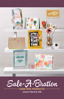 image of Stampin'UP!'s 2016 Sale-a-bration catalog