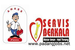Lowongan Kerja Padang: Ahass Oslan Service Februari 2018