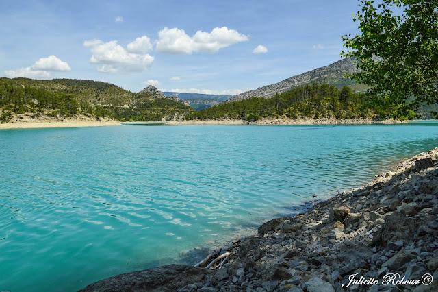 Lac de Castillon, Provence Alpes Côte-d'Azur