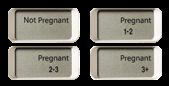 Prueba de embarazo digital ClearBlue