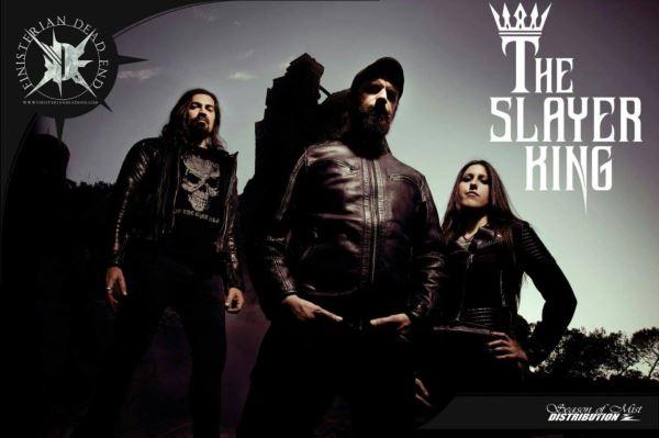 "THE SLAYERKING: Παρουσίασαν το lyric video του ""She is My Lazarus"""