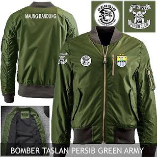 Jaket Bomber Persib