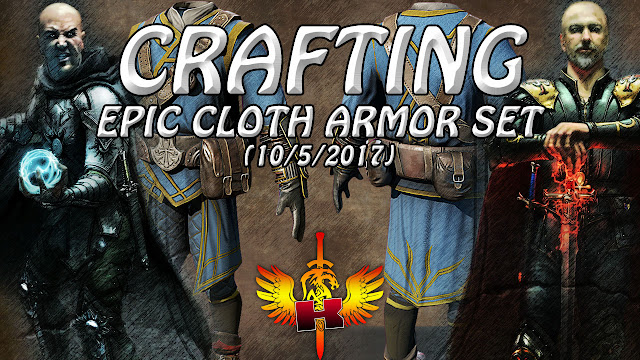 Crafting An Epic Cloth Armor Set (10/5/2017) • Shroud Of The Avatar Crafting