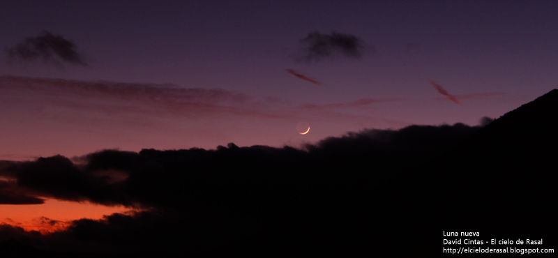 Luna nueva - El cielo de Rasal