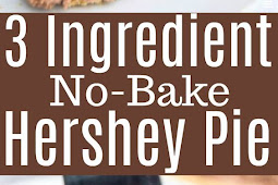 3 Ingredient No-Bake,Keto Hershey Pie