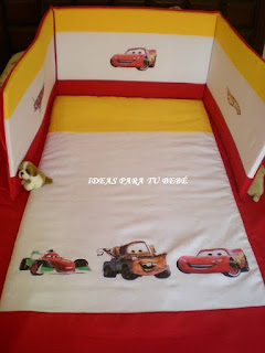 Juego de cuna cars