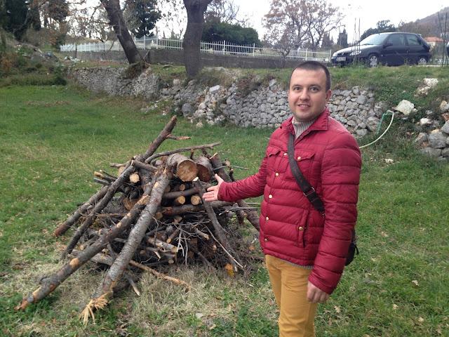 бадни дан, бадни дан в черногории, черногория , рождетсво в черногории