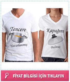 Sevgililere Özel Tişörtler
