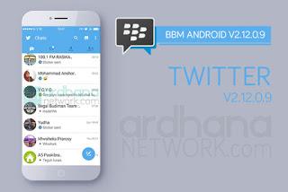 BBM Mod Twitter Versi 2.12.0.9 Apk Gratis