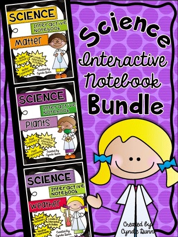 http://www.teacherspayteachers.com/Product/Science-Interactive-Notebook-with-Experiments-BUNDLE-Matter-Plants-Weather-1369448