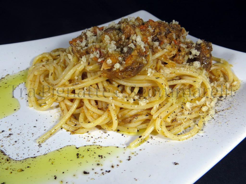 Tra pignatte e sgommarelli le mie ricette spaghetti con for Spaghetti ricette
