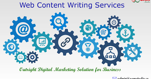 Web Content Writing Services | Content Marketing & Production Services