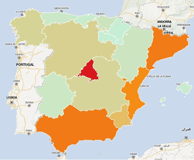 autonomous regions