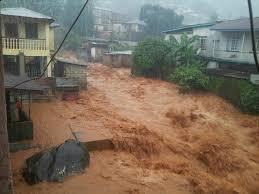 Hochwasser in Sierra Leone