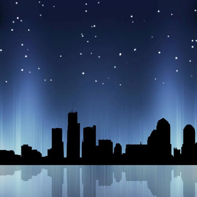City Night Sky Wallpaper Engine