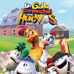 Poster Un gallo con muchos huevos 2015