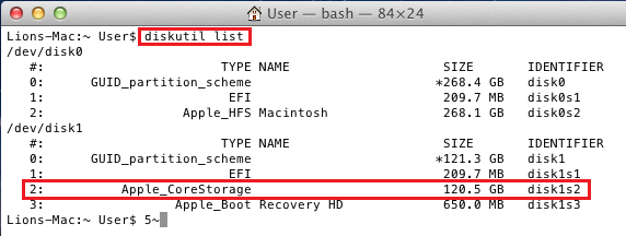 decrypt filevault terminal