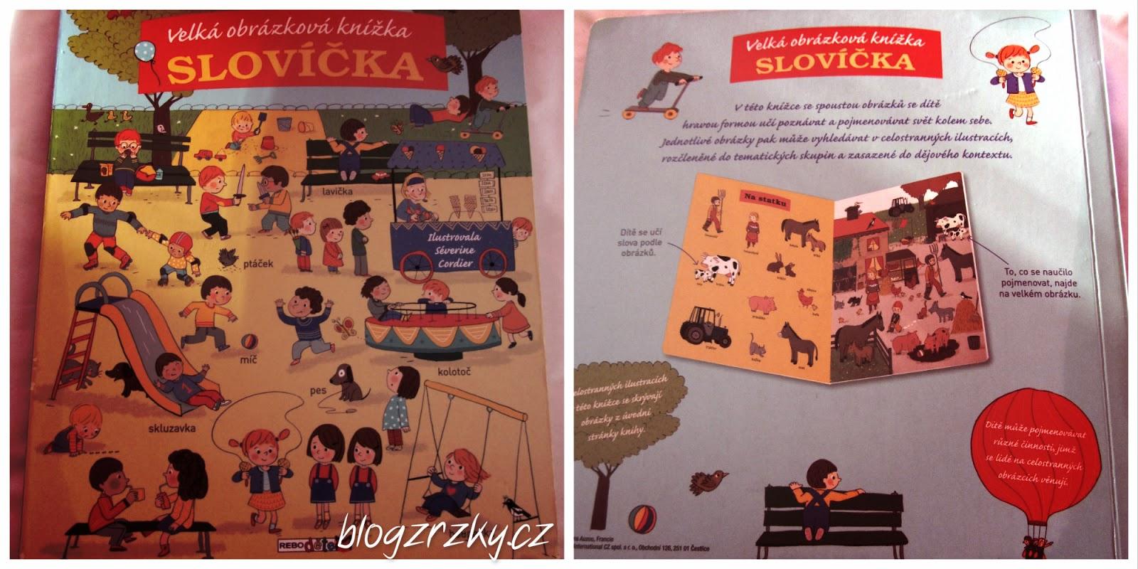 01b21a8b96f Knihy pro děti   Velká obrázková knížka - Slovíčka
