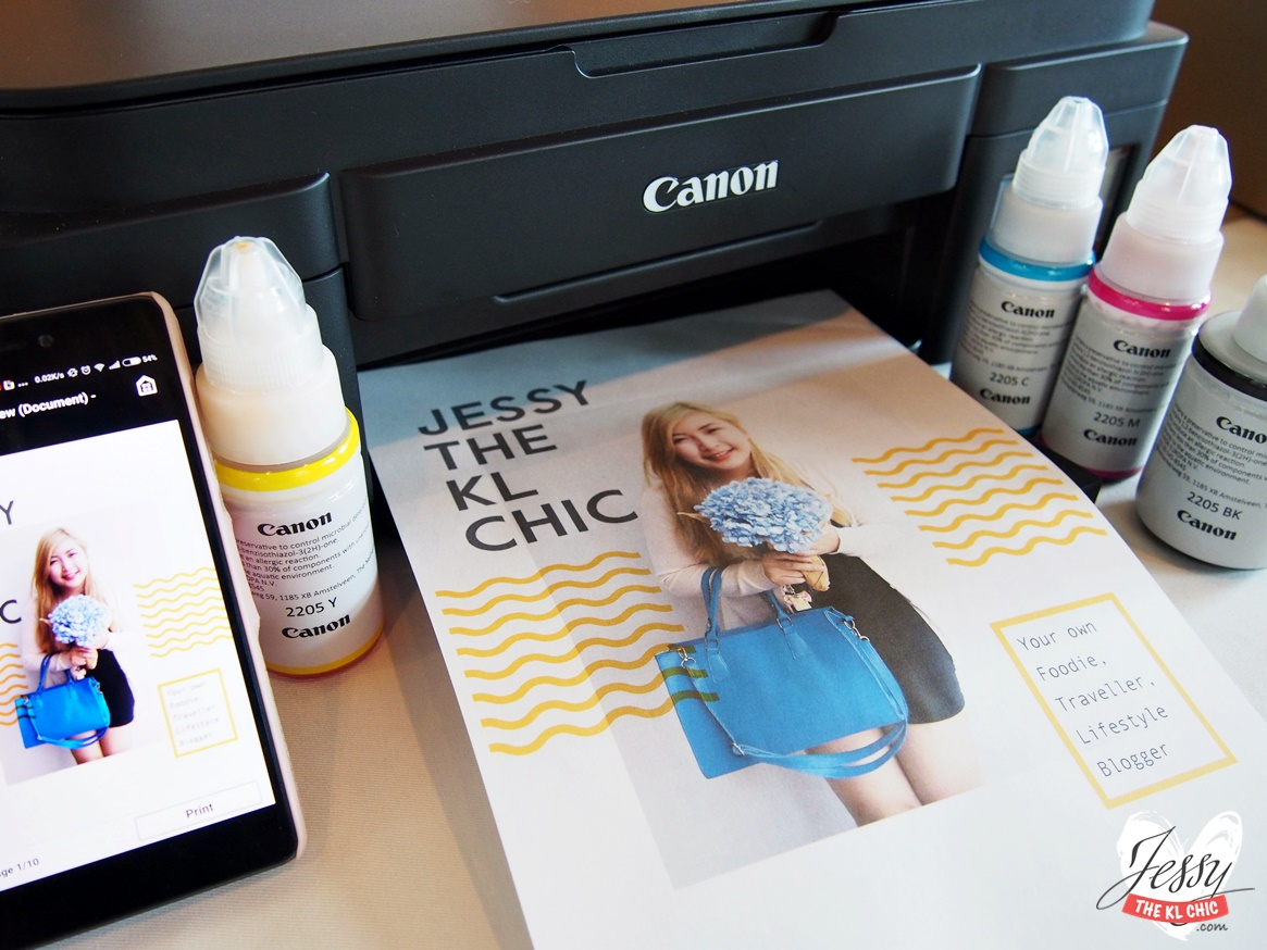 Wi-Fi Connected 3-in-1 Canon MG & G Series Inkjet Printer That We All Need To Have