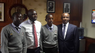 Senator Kipchumba Murkomen with his counterpart Mutula Kilonzo Junior. PHOTO | Courtesy