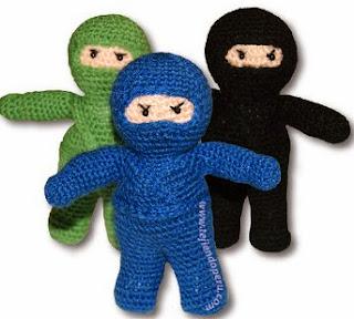 http://www.tejiendoperu.com/amigurumi/ninjas/
