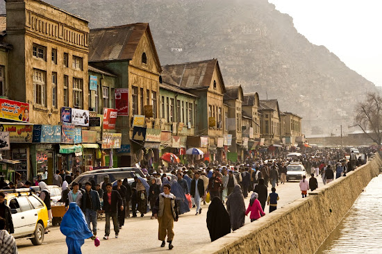 The Afghan capital Kabul has become one of the fastest growing cities in the world
