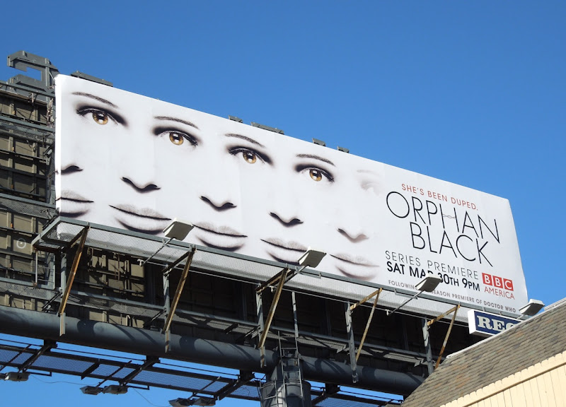 Orphan Black series premiere billboard