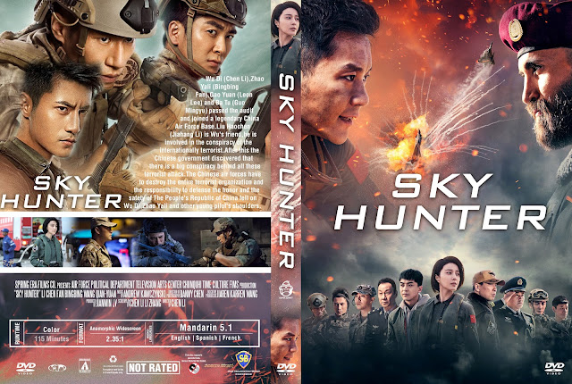 Sky Hunter DVD Cover