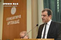Ο Φώτης Δαμούλος εξελέγη και πάλι Πρόεδρος του Επιμελητηρίου Αργολίδας