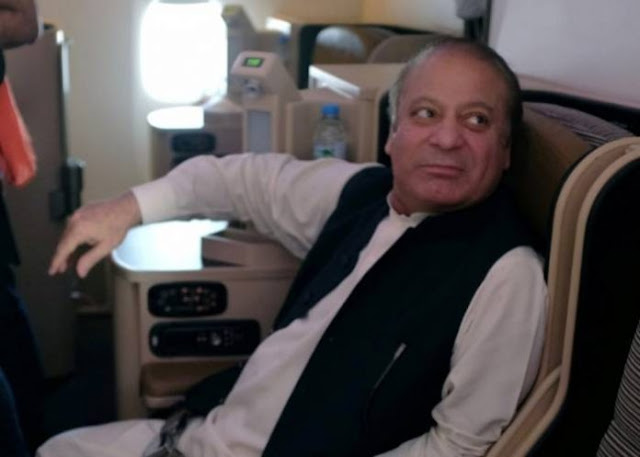 Former Pakistani premier Nawaz Sharif sentenced to seven years jail for corruption