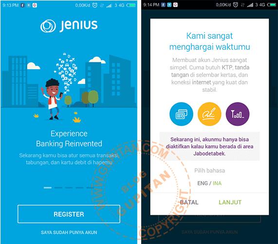 Membuat Kartu ATM Virtual Bank Lokal Indonesia 1