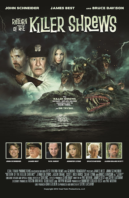 Killer Shrews Poster