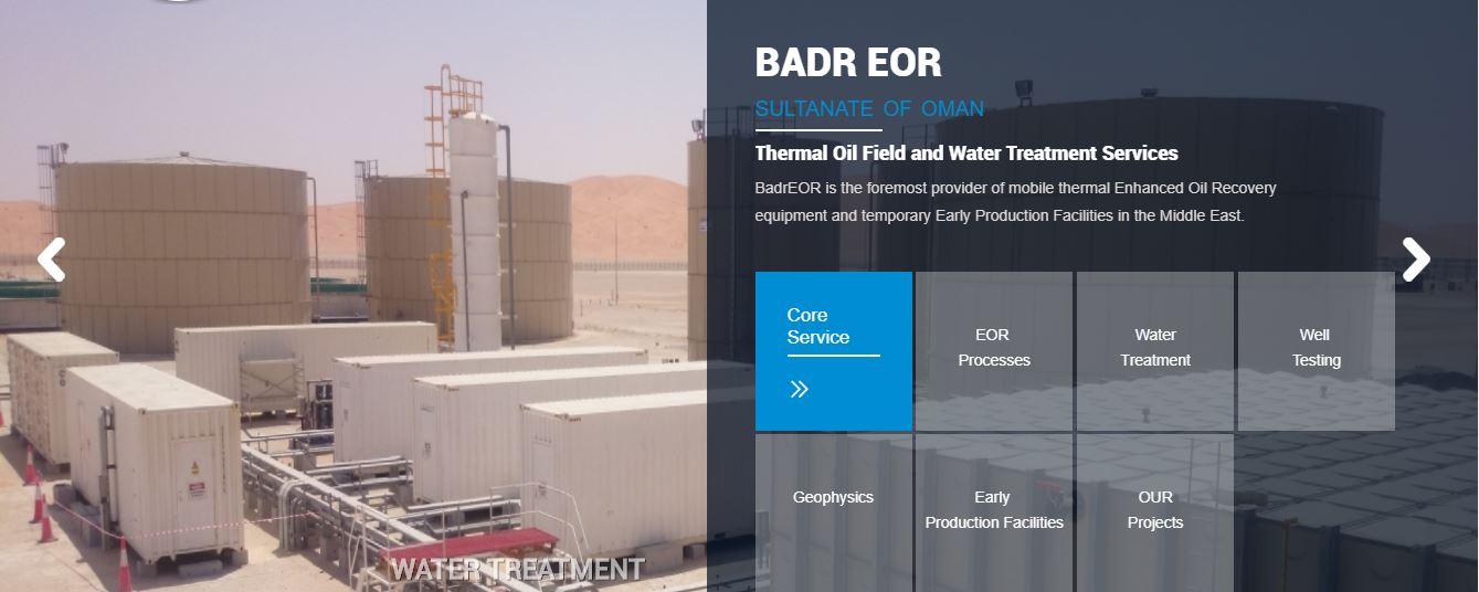 BadrEOR oil field services in oman
